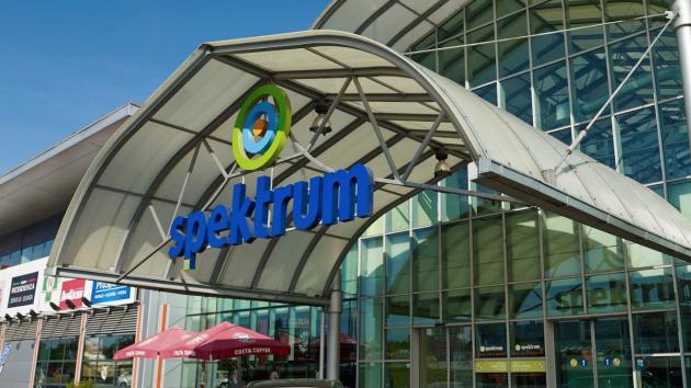 Obchodní centrum Spektrum v Čestlicích