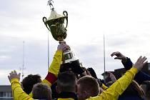Pohár pro vítěze Tipsport ligy.