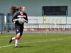 Brankářka Barbora Votíková (SK Slavia Praha).