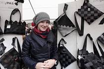 Největší zájem vzbudil stánek šestadvacetileté návrhářky Terezy Lstibůrkové.