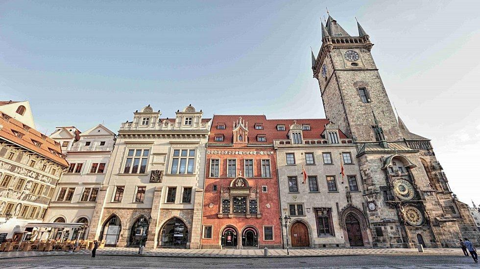 Staroměstská radnice - průčelí.