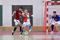 Futsalové derby Slavia - Sparta v listopadu 2019 skončilo výsledkem 0:9.