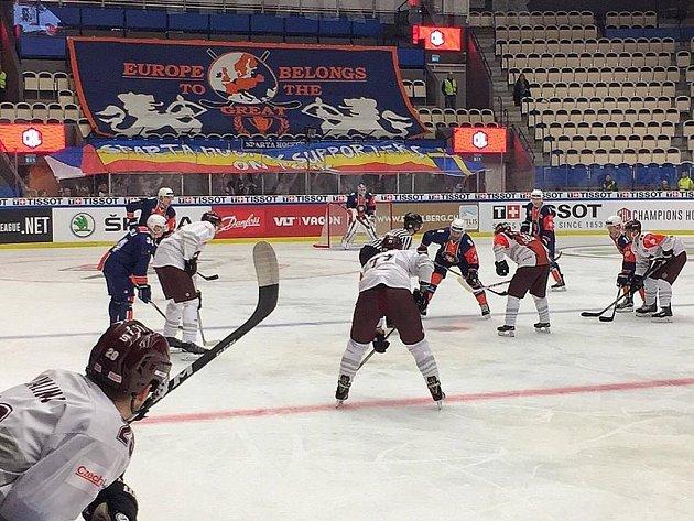 HC Sparta porazila švédský Växjö 2:1.
