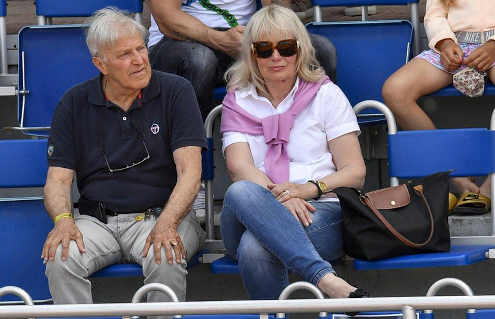 Legenda světového tenisu, nejúspěšnější československý tenista 60. a 70. let dvacátého století Jan Kodeš.