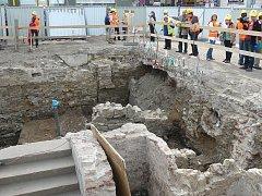 GOTICKÉ SKLEPY. Obavy archeologů se nenaplnily, dochovaly se téměř neporušené.