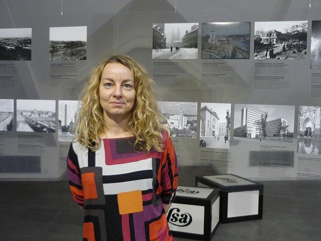 Kurátorka výstavy Klára Halmanová