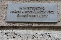 Ministerstvo práce a sociálních věcí. Ilustrační foto.