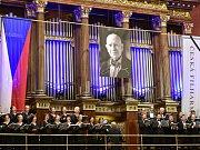 Koncert ČF k uctění památky zesnulého šéfdirigenta Jiřího Bělohlávka.