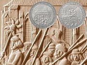 ČNB vydává minci k 600. výročí první pražské defenestrace.