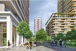 4.– 6. místo Petitdidierprioux Architecte. Francouzský ateliér pojal návrh jako rozšíření centra, nabídl různé výškové hladiny a reagoval na okolní zástavbu.