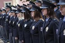 Policejní nováčci.