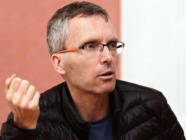 Výživový poradce ze sdružení Prameny zdraví Robert Žižka je propagátorem čistě rostlinné stravy.