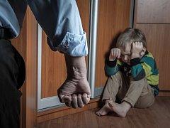 Trestání dítěte. Ilustrační foto.
