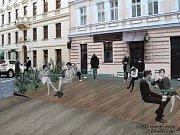 Ulice Za Poříčskou branou projde revitalizací.