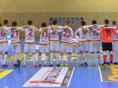 Futsalisté Slavie Praha.
