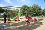 Dětské hřiště v parku Přátelství. Ilustrační foto.