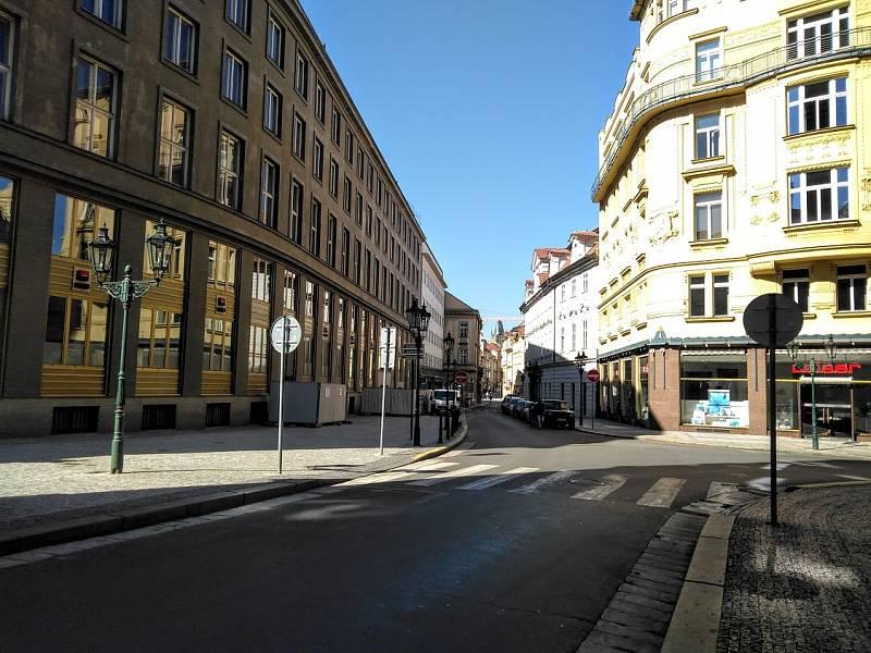 Celetná ulice.