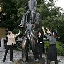 pomník Franz Kafka