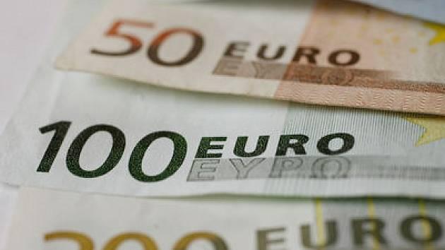 Peníze. Eura./Ilustrační foto