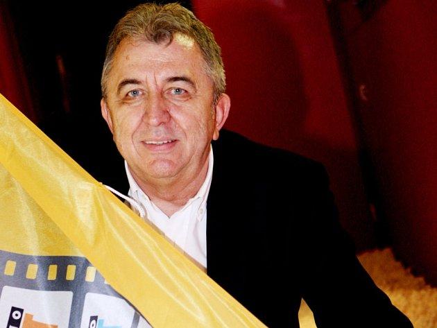 Prezident mezinárodního filmového festivalu Febiofest Fero Fenič.