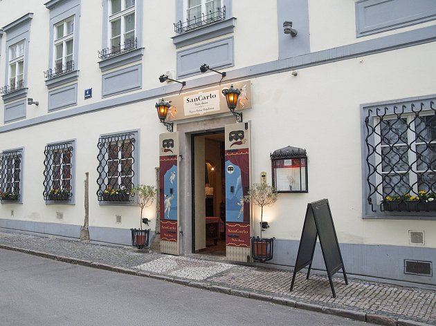 moje místa Michala Brennera, pizzeria San Carlo, Praha, 3.5.2017