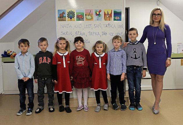 1.třída ZŠ Orangery - třídní Mgr. Sylva Slabihoudková, Ph.D.