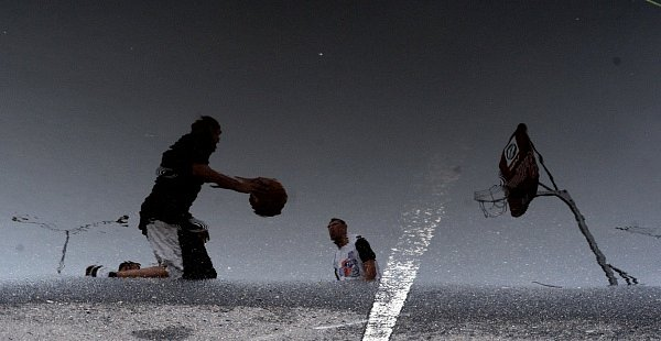 Finále turnaje Českého streetbalového poháru v Praze na Černém Mostě.