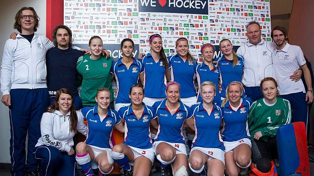ČESKÉ HALOVÉ HOKEJISTKY vybojovaly na mistrovství Evropy páté místo.