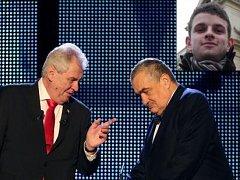 Prezidentskou volbu okomentoval student Petr Vrchota
