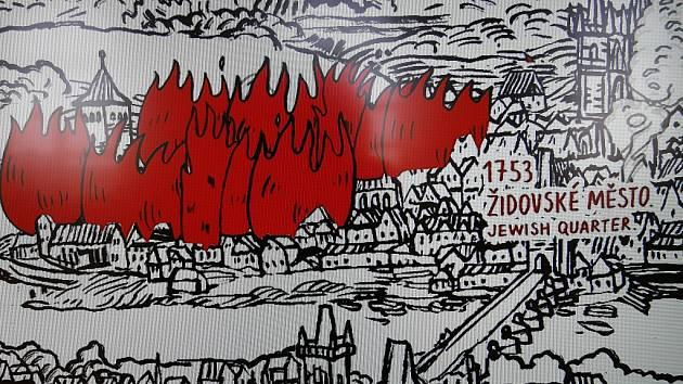 Multižánrová expozice představuje odvěké ohrožení Prahy ohněm. Ke komplexnímu zážitku divákovi pomáhá animace, videoart, virtuální realita nebo videomapping.
