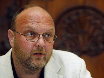 Ředitel Národní knihovny Vlastimil Ježek.