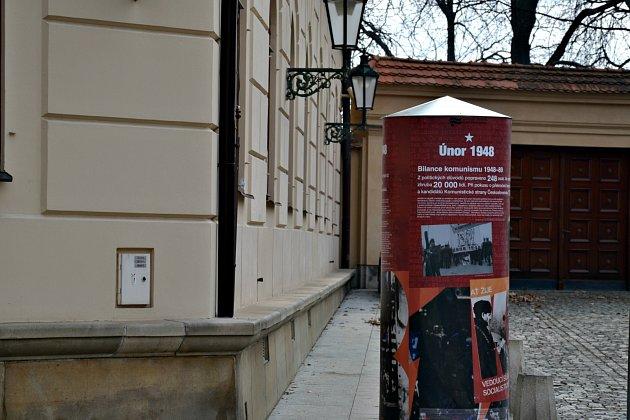 Sloupy najdeme na čtyřech místech v Praze
