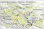 Transformační studie Bohdalec - Slatiny. Infografika.