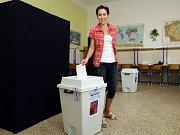 K urnám místního referenda na Praze 10 přišlo podle Českého statistického úřadu 15,8 procenta voličů.