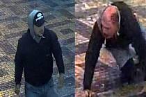 Napadený muž na Václavském náměstí v Praze.