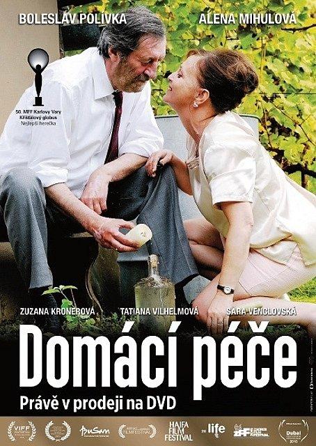 Ze slavnostního křtu DVD s českým filmem Domácí péče.