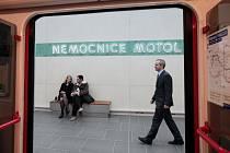 Slavnostní otevření nového úseku metra A do Motola.