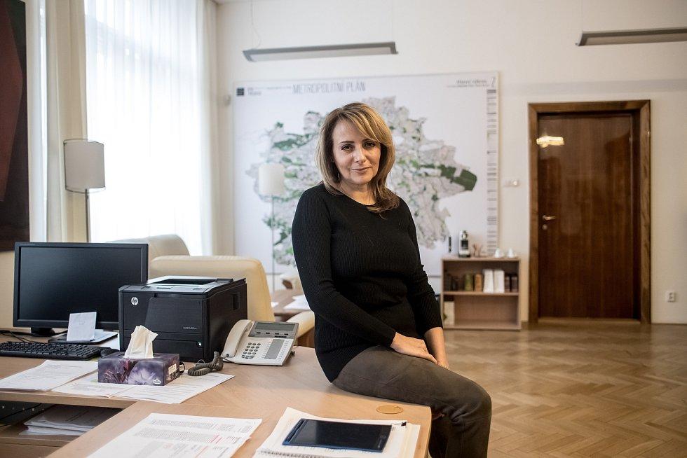 Pražská primátorka Adriana Krnáčová.