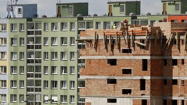 Výstavba nových bytů (ilustrační snímek)