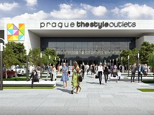 Prague The Style Outlets.