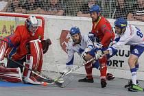 Hokejbalisté HC Kert park Praha přivítají v sobotu na domácí půdě soupeře z Ústí nad Labem.