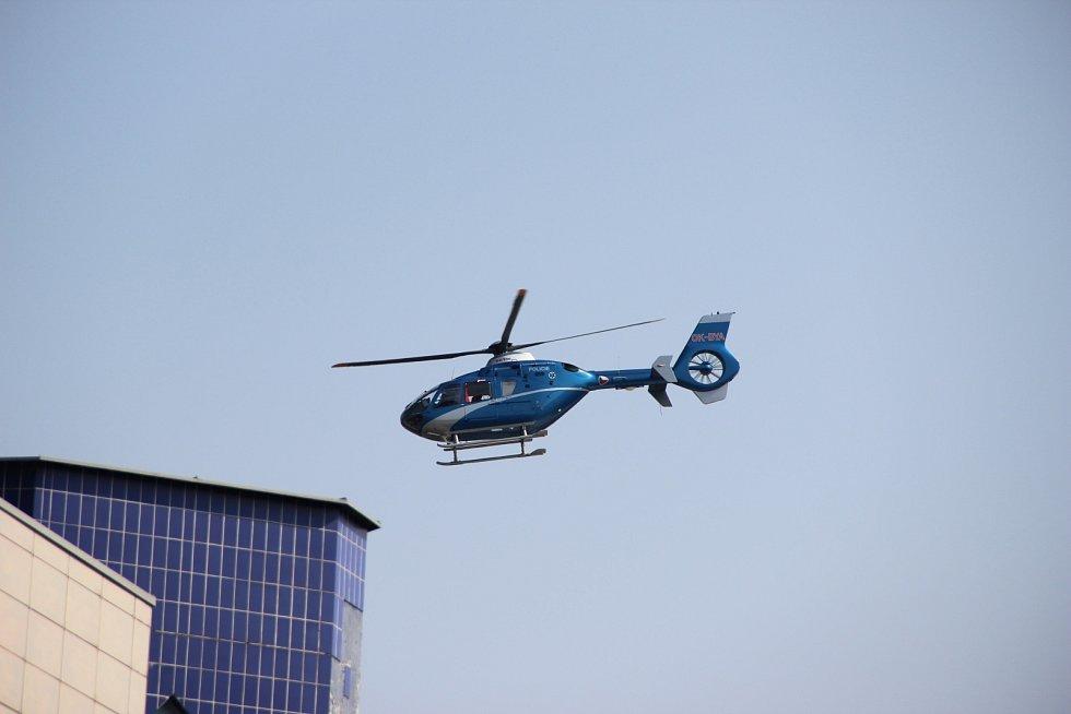 Helikoptéry EUROCOPTER EC-135 pražské záchranné služby.