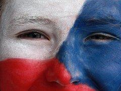 Čeští fanoušci. Ilustrační foto.