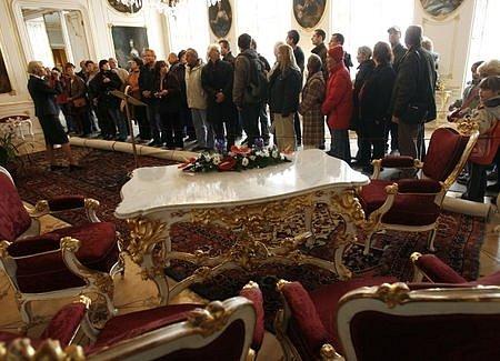 V sobotu první listopadový den byl od rána veřejnosti přístupný Pražský hrad.