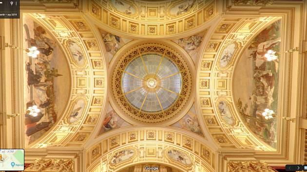 U příležitosti oslav 15. výročí spuštění Map Google nasnímala firma v Česku prostory zrekonstruovaného Národního muzea pro službu Street View.
