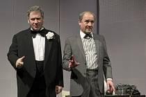 V představení Vstupte! se setkali Tomáš Töpfer a Viktor Preiss