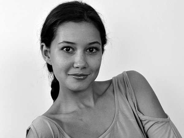 Herečka Sabina Rojková.