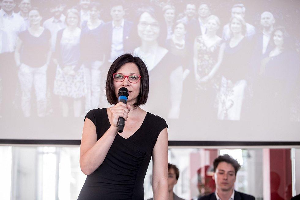 Strana zelených představila 16. června v Praze svůj program a lídry do podzimních parlamentních voleb. Monika Horáková - Pardubický kraj