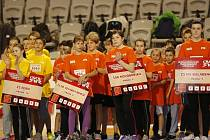 Odznak všestrannosti olympijských vítězů připravil pro děti pražských základních škol druhý ročník zábavného soutěžení - Pražský pětiboj všestrannosti.