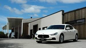 Vůz značky Maserati. Ilustrační foto.